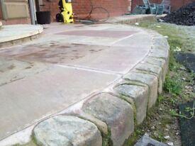 Cobble stone, granite, setts, block paving, driveway