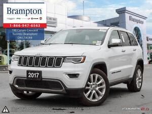 2017 Jeep Grand Cherokee LIMITED 4X4 | EX COMPANY DEMO | 8.4 IN