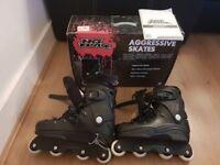 Inline skates - agressive skates