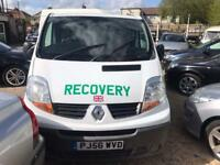 2006 Renault Traffic 1.9 TD dCi SL27 Phase 2 Panel Recovery - MOT JULY 19 - 130k miles - hpi clear