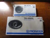 Pioneer Pair 6x9s & Front Dash Speakers 40w