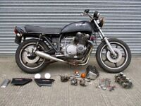 Suzuki GS750 1977 project, restoration, cafe racer, bobber, winter project