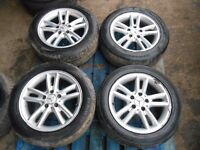 Mercedes C Class CLK 5x112 16'' Genuine Staggered ALLOY WHEELS & TYRES