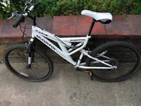 "Mountain Bike in Excellent Condition - Muddyfox 26"" Icarus Full Suspension Bike. Must see pictures"