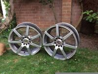 VW CAMPER T2 ALLOY WHEELS X 4 NO TYRES
