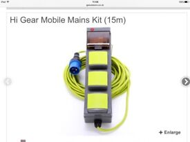 Hi gear mobile mains kit