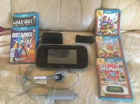Wii u boxed with games