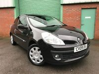2009 (09) Renault Clio 1.2 16v ( 75bhp ) Extreme 55,000 MILES 1 OWNER 3 DOOR FULL SERVICE HISTORY