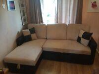 New Corner SofaBed £300