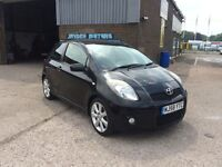 2008 58 TOYOTA YARIS 1.8 SR 3 DR,98000 MILES,FULL TOYOTA MAIN DEALER SERVICE HISTORY,TAKEN IN PX.