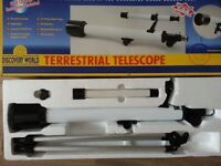 Children's 35x50x50mm Telescope