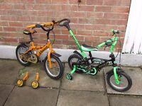2 kids bikes for sale £20 EACH