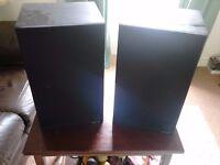 Pair of KEF C45 Bookshelf speakers