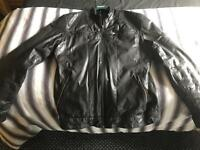 Aviatrix leather jacket