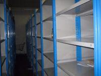 job lot 30 bays of dexion impex industrial ( storage , pallet racking )