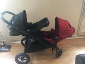 City select baby jogger double buggy