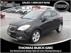 2015 Buick Encore Leather - SUNROOF, AWD!