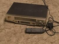 VHS Video player with Remote Full working order, good condition.