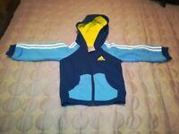 Adidas hooded top