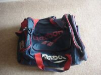 Reebok Small Sports Holdall Navy/Red/White £3