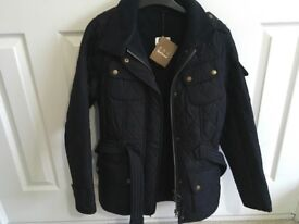 Barbour ladies coat size 10 new with tags cost £179