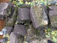 Sandstone rockery rocks