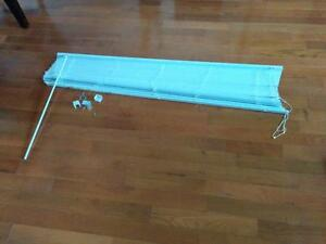 """60""""L x 45H Rideau Curtain Blinds Like New"""
