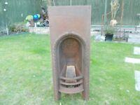 Beautiful cast iron fire place