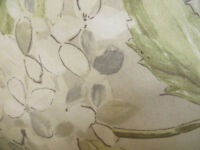 Three floral cushions