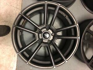 Mags 18 pouces  FAST 5x120 BMW   255/55/18