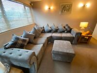Grey Corner Sofa For Sale 5 Seater
