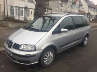2006 Seat Alhambra diesel 93000miles 7 seater same like Vw Sharan Ford Galaxy