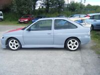 FORD ESCORT RS COSWORTH REPLICA BASED ON A GTI PROJECT GOOD RUNNER EXC SHELL NO OFFERS