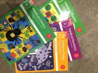 Belair display books for 5-7year olds