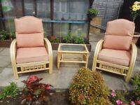 Conservatory chairs and table