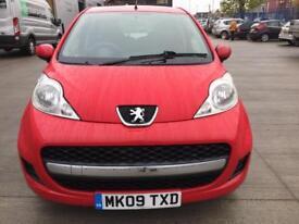 Peugeot 2009 107 1.0 12v Urban 5dr New MOT