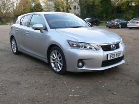 LEXUS CT200 SE-L Hybid == FULL LEATHER == SAT NAV== REVERSE CAMERA.