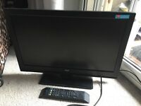 Bush 22inch led tv with freeview