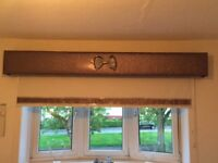 Lovely sparkle blinds and pelmits for sale