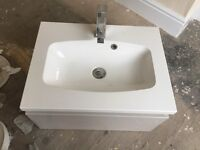 BRAND NEW Beautiful Modern Floating Sink - £100 off
