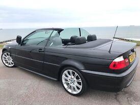 "06 BMW ""M-SPORT"", ""CONVERTIBLE"", 68000 MILES, FULL YEAR MOT, FULL SERVICE HISTORY"
