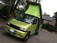 HI SPEC MAZDA BONGO 2.5 TD 4WD 8 SEATER/CAMPER /DAY VAN/LOW MILES/FUNKY STUNNING COLOUR /VW T4 T5