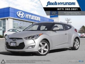 2014 Hyundai Veloster 1.6L DCT | Back up camera | 3 door coup...