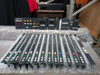 Studer 970 Mixing Console Modules - 12 x Stereo Line Modules +++ (Ex BBC)