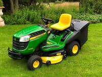 "John Deere X166R Ride on mower - 42"" deck - lawnmower - Countax / Kubota / Honda"