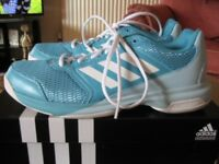 Ladies Adidas Trainers/Court Shoes Size 8