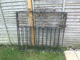 Metal Driveway Gates as pictured