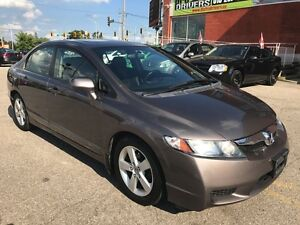2009 Honda Civic Sport/ONE OWNER/NO ACCIDENT/SAFETY/WARRANTY INC