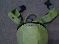 Little life Turtle back pack reins