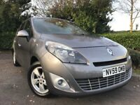 2009 (59) Renault Grand Scenic 1.5dCi Dynamique 7 SEATER 58,000 MILES IMMACULATE FSH CAMBELT CHANGED
